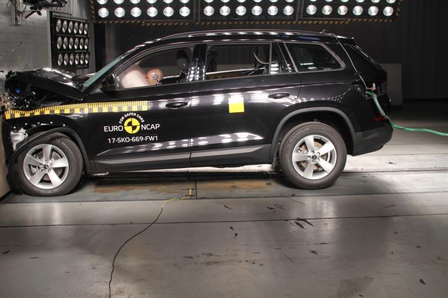 Skoda Kodiaq y Mini Countryman obtienen cinco estrellas en los últimos test Euro NCAP