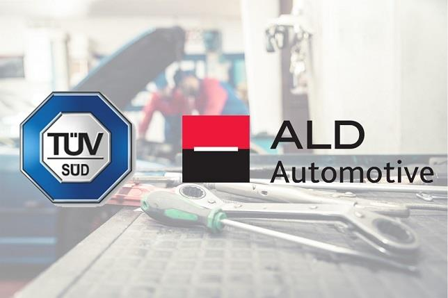 ALD Automotive firma un acuerdo con TÜV SÜD para certificar los talleres de su red