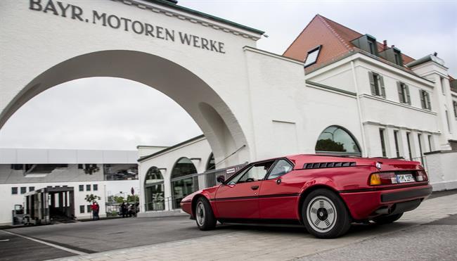 El BMW M1 cumple 40 años tras su estreno en el Salón del Automóvil de París en 1978