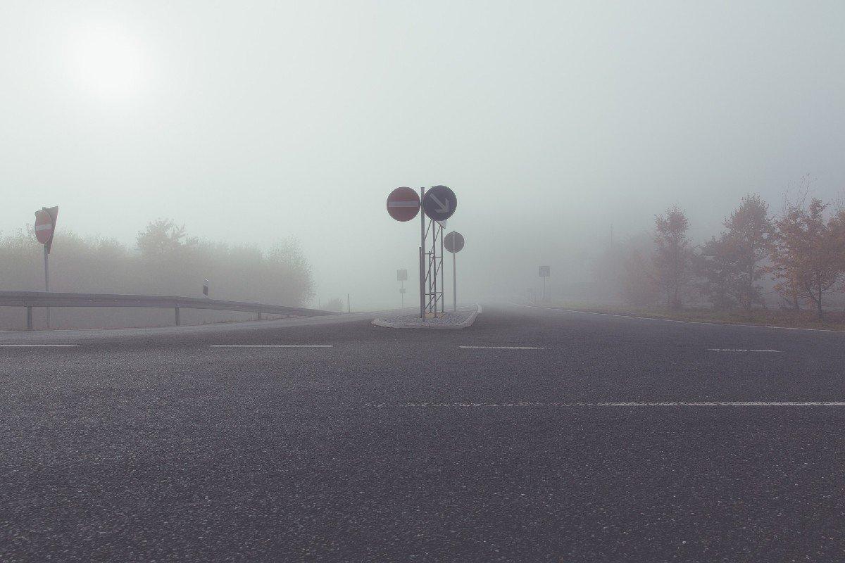 seis cosas que debes hacer cuando conduces con niebla
