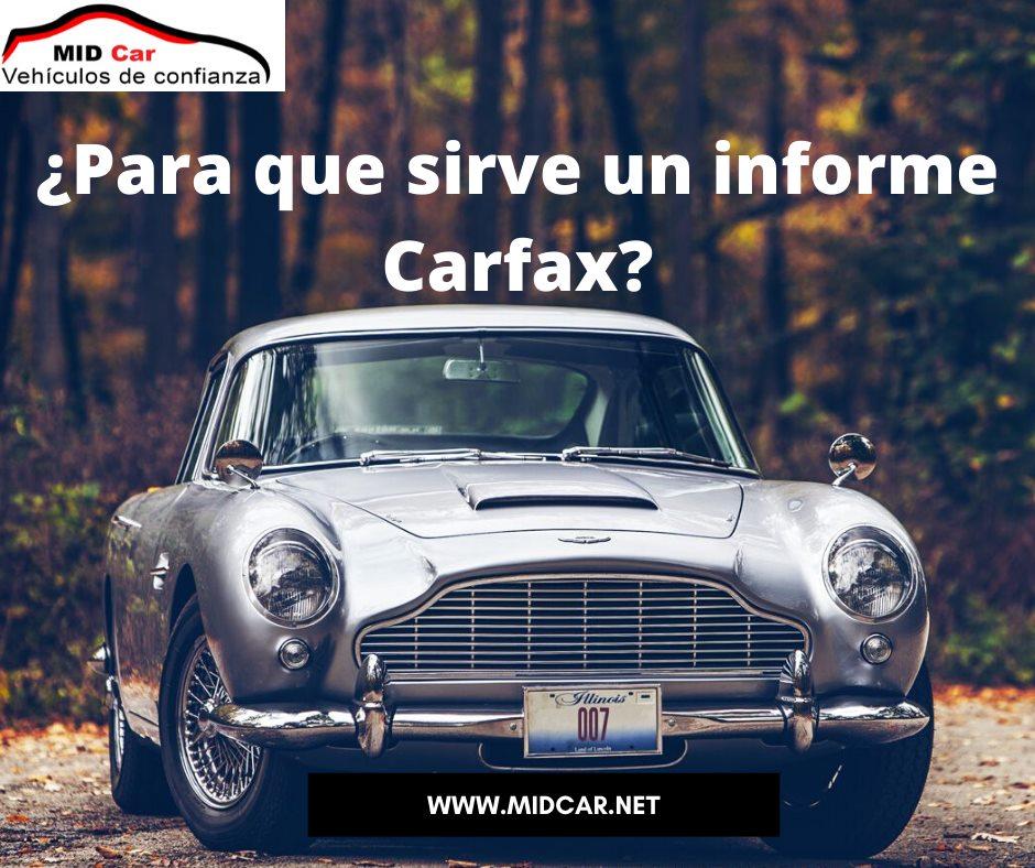 Importancia de un informe CARFAX