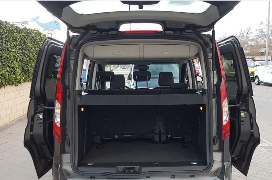 MIDCar coches ocasión Madrid Ford Tourneo Connect 1.5Tdci Titanium 100Cv